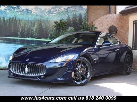 2013 Maserati GranTurismo for sale in Glendale, CA