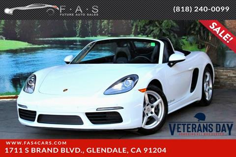 2017 Porsche 718 Boxster for sale in Glendale, CA
