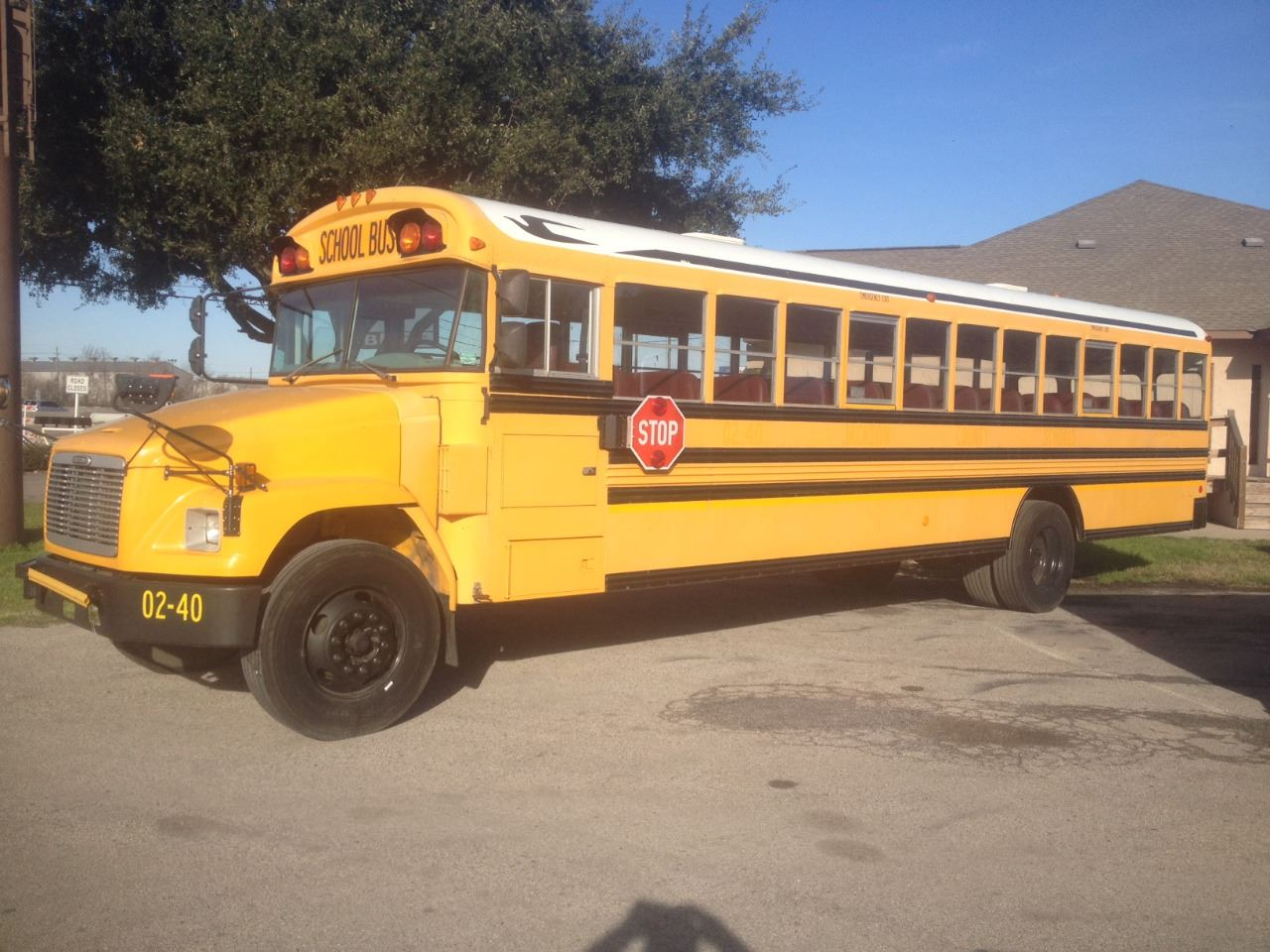 2001 Freightliner Blue Bird School Bus In Cypress TX