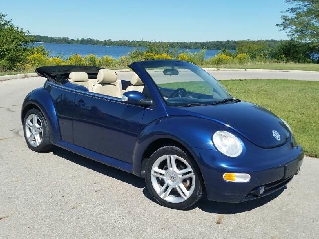 2005 Volkswagen New Beetle 2dr Gls 18t Turbo Convertible In