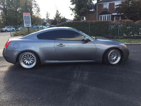 2008 Infiniti G37 Coupe For Sale In Ludlow Vt Carsforsale