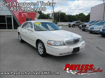 2007 Lincoln Town Car for sale in Warr Acres, OK