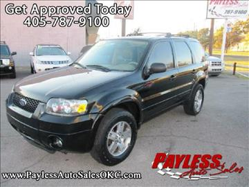 2005 Ford Escape for sale in Warr Acres, OK