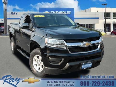 2016 Chevrolet Colorado For Sale At Ray Chevrolet In Fox Lake IL