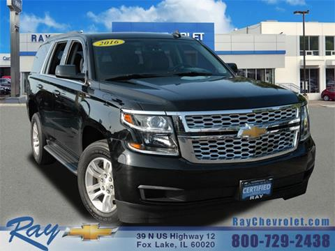 2016 Chevrolet Tahoe For Sale At Ray Chevrolet In Fox Lake IL