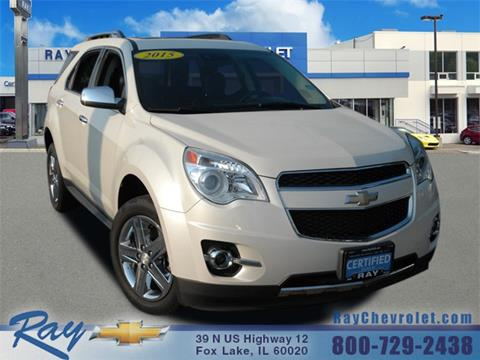 2015 Chevrolet Equinox For Sale At Ray Chevrolet In Fox Lake IL