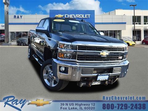 2016 Chevrolet Silverado 2500HD for sale in Fox Lake, IL