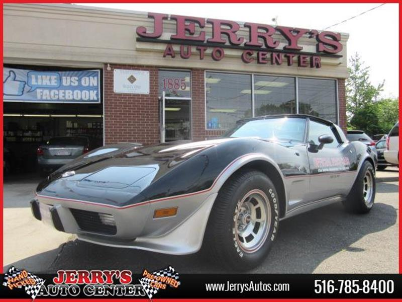 1978 Chevrolet Corvette for sale at JERRY'S AUTO CENTER in Bellmore NY