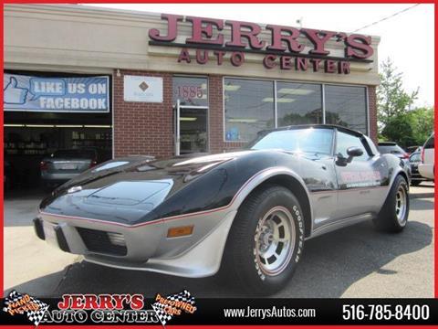 1978 Chevrolet Corvette for sale at JERRY'S AUTO CENTER in Bellmore NY
