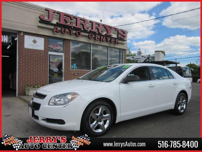 2011 Chevrolet Malibu for sale at JERRY'S AUTO CENTER in Bellmore NY