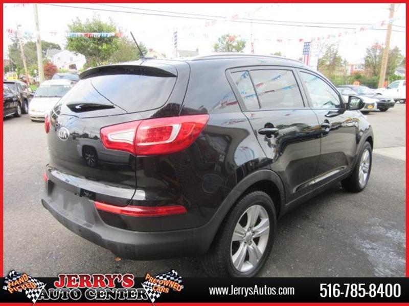 2013 Kia Sportage for sale at JERRY'S AUTO CENTER in Bellmore NY