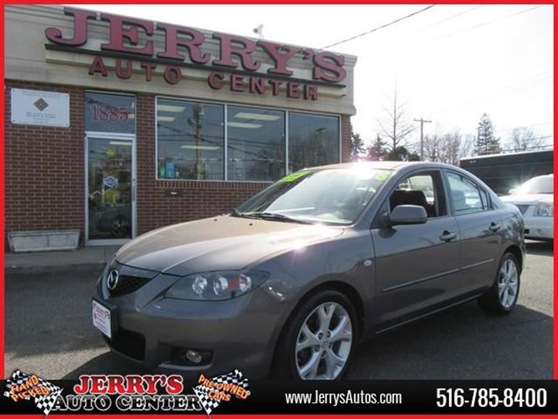 2008 Mazda MAZDA3 for sale at JERRY'S AUTO CENTER in Bellmore NY