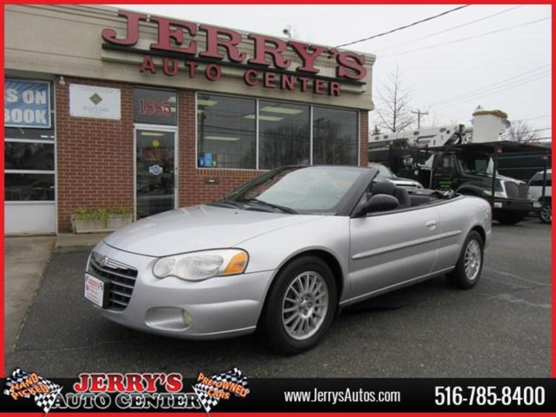 2004 Chrysler Sebring for sale at JERRY'S AUTO CENTER in Bellmore NY