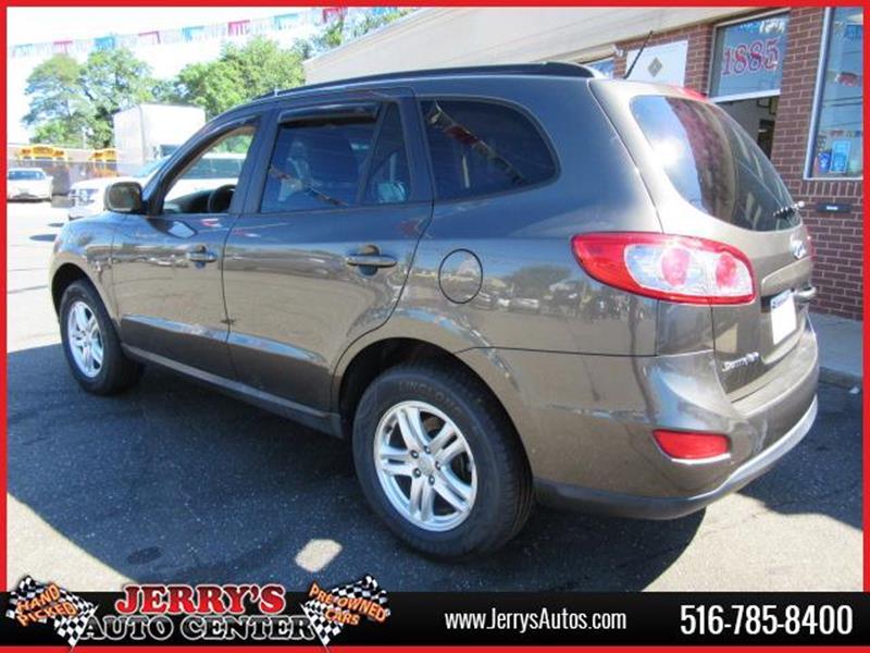 2012 Hyundai Santa Fe for sale at JERRY'S AUTO CENTER in Bellmore NY
