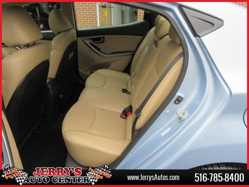 2012 Hyundai Elantra for sale at JERRY'S AUTO CENTER in Bellmore NY