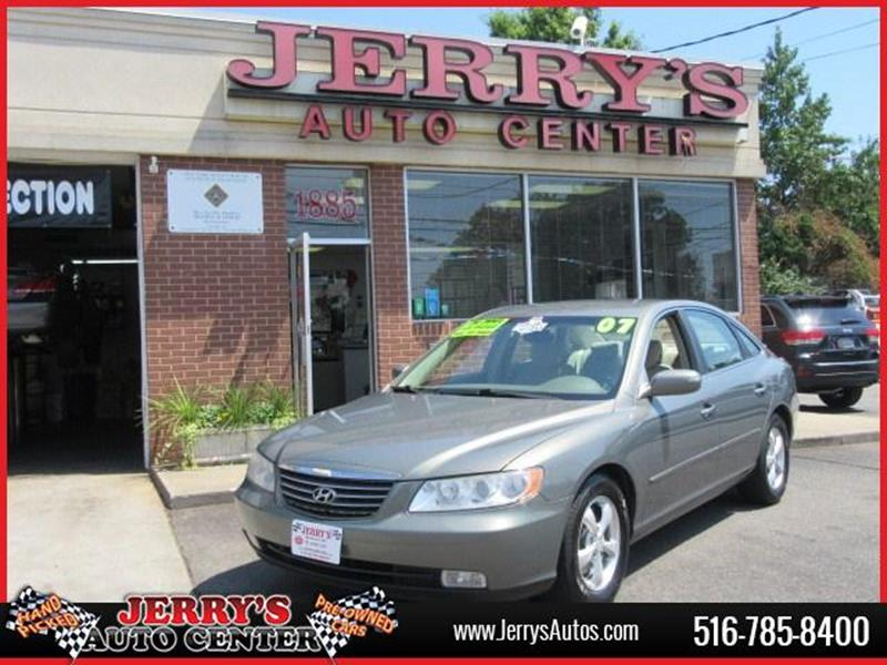2007 Hyundai Azera for sale at JERRY'S AUTO CENTER in Bellmore NY