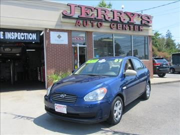 2007 Hyundai Accent for sale at JERRY'S AUTO CENTER in Bellmore NY