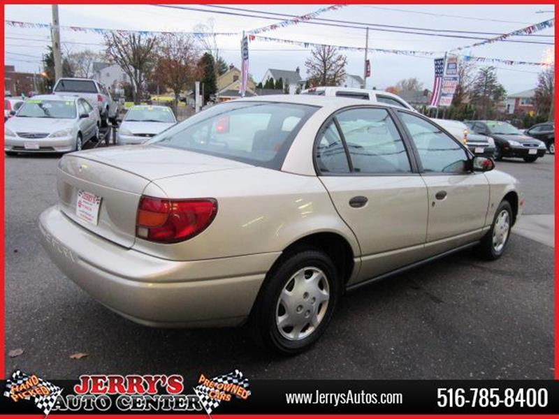 2000 Saturn S-Series for sale at JERRY'S AUTO CENTER in Bellmore NY