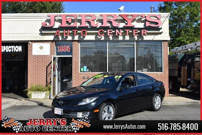 2009 Mazda MAZDA6 for sale at JERRY'S AUTO CENTER in Bellmore NY