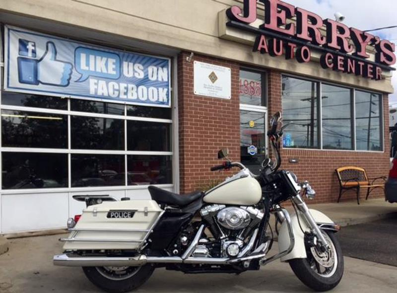 2008 Harley Davidson Road King Police for sale at JERRY'S AUTO CENTER in Bellmore NY