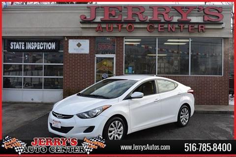 2013 Hyundai Elantra For Sale At JERRYu0027S AUTO CENTER In Bellmore NY