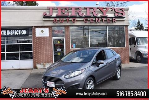 2014 Ford Fiesta for sale at JERRY'S AUTO CENTER in Bellmore NY