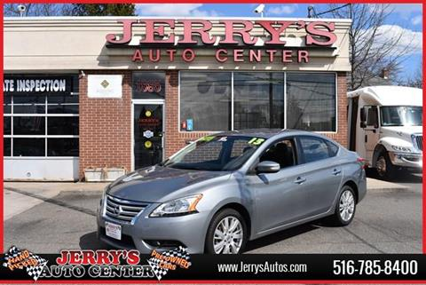 2013 Nissan Sentra for sale at JERRY'S AUTO CENTER in Bellmore NY