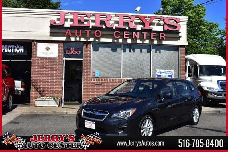 2014 Subaru Impreza for sale at JERRY'S AUTO CENTER in Bellmore NY