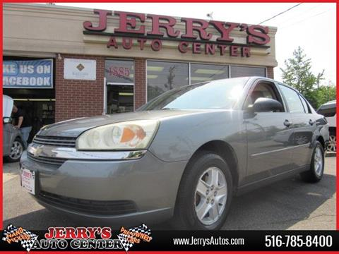 2005 Chevrolet Malibu for sale at JERRY'S AUTO CENTER in Bellmore NY