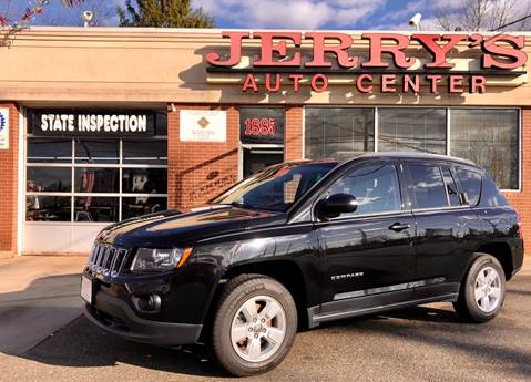 2014 Jeep Compass for sale at JERRY'S AUTO CENTER in Bellmore NY