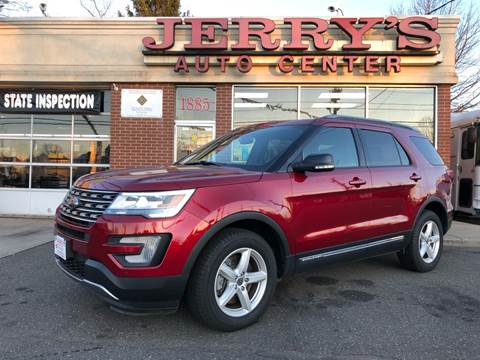 2017 Ford Explorer for sale at JERRY'S AUTO CENTER in Bellmore NY