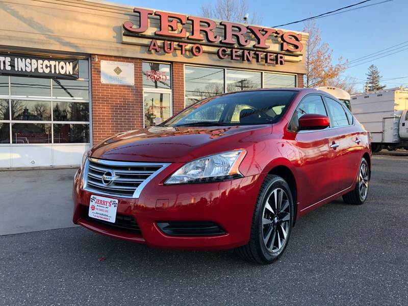 2014 Nissan Sentra for sale at JERRY'S AUTO CENTER in Bellmore NY