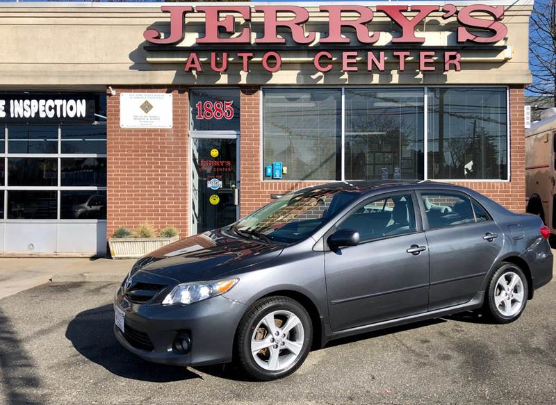 2011 Toyota Corolla for sale at JERRY'S AUTO CENTER in Bellmore NY