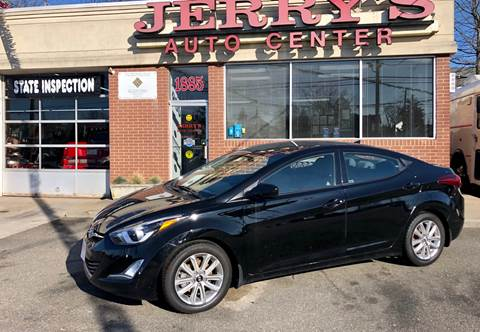 2015 Hyundai Elantra for sale at JERRY'S AUTO CENTER in Bellmore NY
