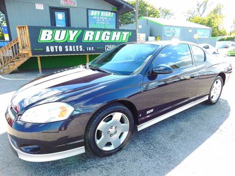 2007 Chevrolet Monte Carlo for sale in Fort Wayne, IN