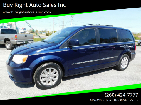 2014 Chrysler Town and Country Touring for sale at Buy Right Auto Sales Inc in Fort Wayne IN