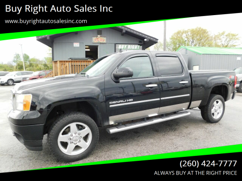 2012 GMC Sierra 2500HD Denali for sale at Buy Right Auto Sales Inc in Fort Wayne IN