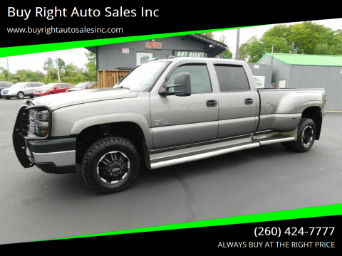 2007 Chevrolet Silverado 3500 Classic LT3 for sale at Buy Right Auto Sales Inc in Fort Wayne IN