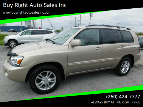 2005 Toyota Highlander Limited for sale at Buy Right Auto Sales Inc in Fort Wayne IN