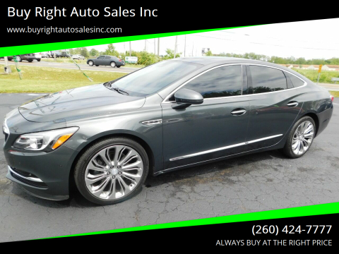2017 Buick LaCrosse Premium for sale at Buy Right Auto Sales Inc in Fort Wayne IN