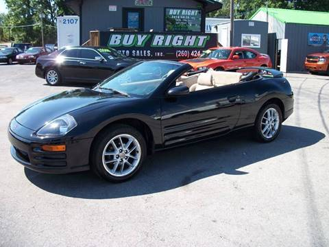 2001 Mitsubishi Eclipse Spyder for sale in Fort Wayne, IN