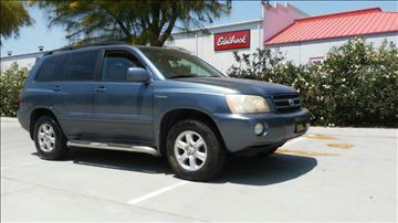 2002 Toyota Highlander for sale at Affordable Luxury Autos LLC in San Jacinto CA