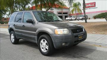 2003 Ford Escape for sale at Affordable Luxury Autos LLC in San Jacinto CA