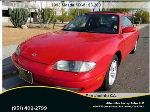 1993 Mazda MX-6 for sale in Hemet, CA