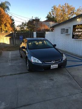 2005 Honda Accord for sale at Affordable Luxury Autos LLC in San Jacinto CA