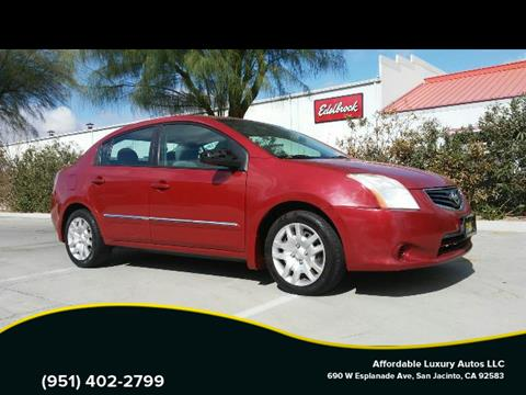 2011 Nissan Sentra for sale at Affordable Luxury Autos LLC in San Jacinto CA