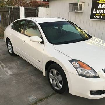 2008 Nissan Altima Hybrid for sale at Affordable Luxury Autos LLC in San Jacinto CA