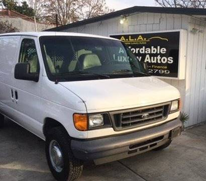 2006 Ford E-Series Cargo for sale at Affordable Luxury Autos LLC in San Jacinto CA