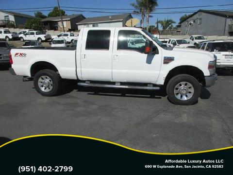 2010 Ford F-250 Super Duty for sale at Affordable Luxury Autos LLC in San Jacinto CA