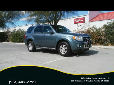 2012 Ford Escape for sale at Affordable Luxury Autos LLC in San Jacinto CA